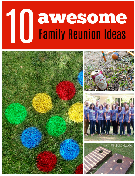 Family Reunion Ideas >> 10 Awesome Ideas For Family Reunions Games Food Fun Craft Buds