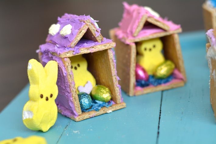 Easter Crafts Peeps House