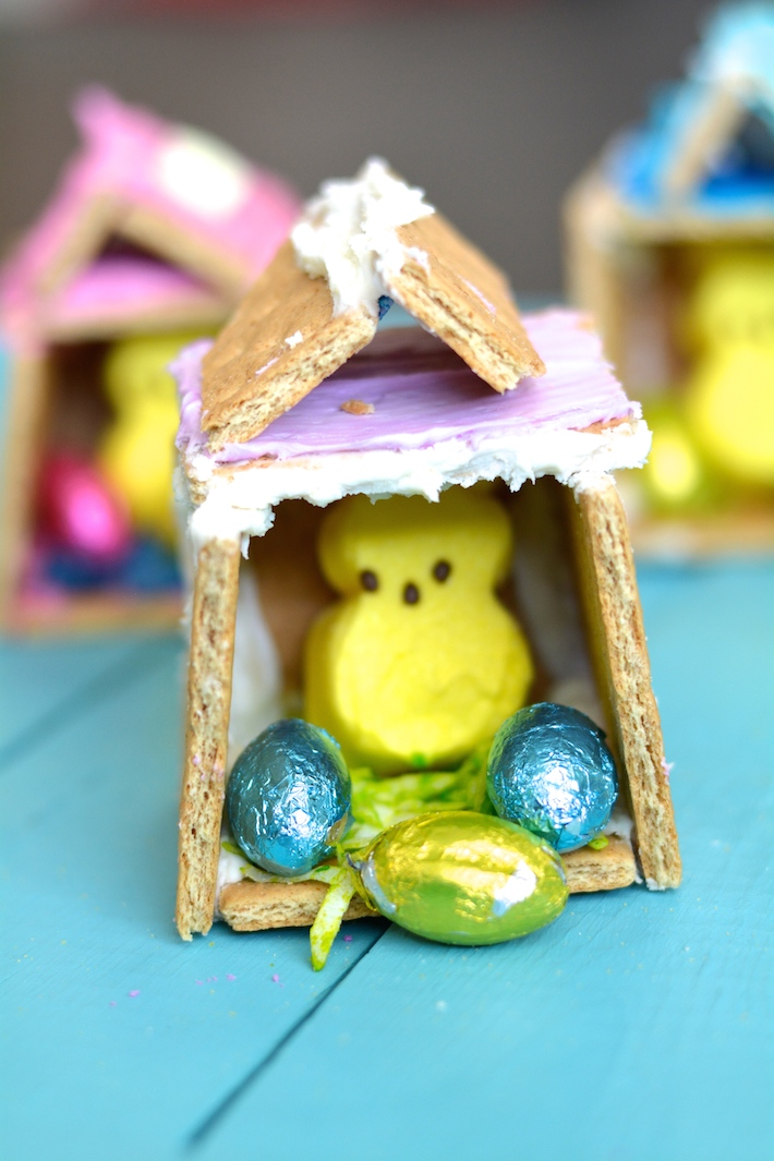 Peeps House Easter Crafts for Kids